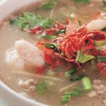 恵比寿 ガパオ食堂 - カオトムクン海老のお粥