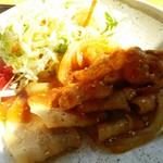 ごはん処 あさひ屋 - 料理写真:ランチパスポート  しょうが焼き定食   ど・アップ500円