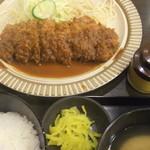 75008465 - 2015/3/7 ひれとんかつ定食