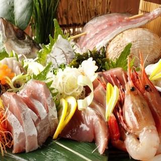 北千住の繁華街にある魚の美味しい日本料理店。
