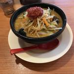 75009752 - 野菜味噌ラーメン650円