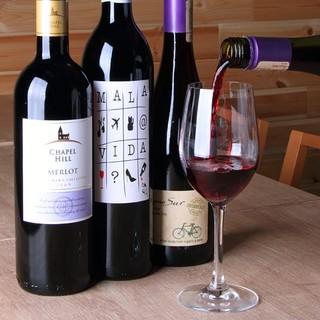 各国から美味しいワインを取り寄せ♪