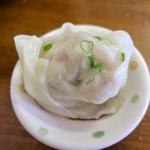 上海わんたん・食彩厨房 - 「ミックスわんたん(海老4個、椎茸4個)」(799円)
