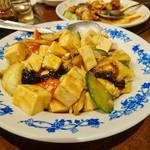 金春本館2号店 - 豆腐のカキ油炒め