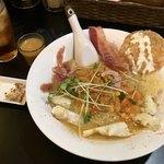 リオブール - 「蟹豚骨ラーメン」(680円)