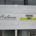 Haleiwa.cafe - 駐車場