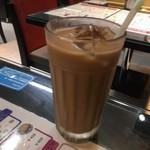 香港 贊記茶餐廳 - 香港式コーヒーミルクティー
