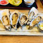 女川海の膳ニューこのり - 牡蠣焼き(¥648税込み)