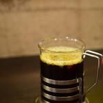 75014836 - セットドリンク@税込200円:ベトナムコーヒーを。ブラックで。