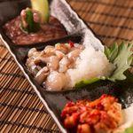 北海道珍味3種盛り