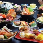 鳥取砂丘にいちばん近いドライブインレストラン砂丘会館 - 各種宴会料理をご用意。メニュー・料金はご相談ください