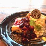 EITAI BREWING Cafe&Dinner - クッキー&クリームNYチーズケーキ 680円
