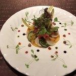 ラ ポルト ドヴェリテ - 前菜 ホタテのカルパッチョ