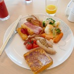 大阪マリオット都ホテル - 洋食系のものを揃えてみました