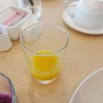 大阪マリオット都ホテル - オレンジ生搾りジュース