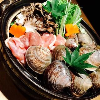 【ご宴会】冬の味覚と豆乳・柚子を使ったお鍋等全7品のコース