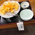 須坂屋 - サービスの柿