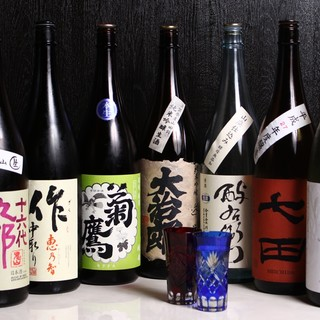 日本酒好きに評価の高い純米酒が豊富