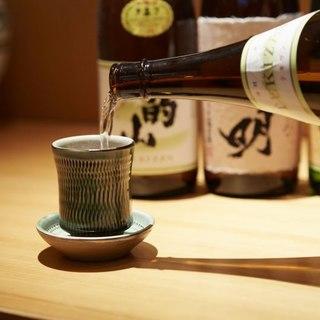 日本酒、焼酎など豊富な取り揃え!