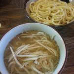 桔梗 - 塩つけ麺(並)※もやし変更2017.10.9