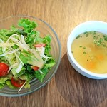 THREE SENT CHARCOAL GRILL&WINE - サラダ、スープ