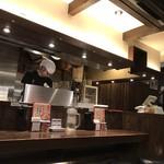 三田製麺所 - きれいな店内