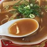 せたが屋 - 鯵煮干しスープ(大つけ麺博 大感謝祭)