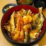 天麩羅 杉 - 天丼1150円…税別です。