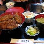佐佳枝亭 - カツ丼(ソースかつ丼)