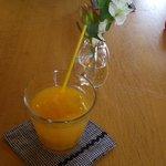 ピリパラ - ランチにつくドリンク オレンジジュースをチョイス