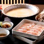 鍋ぞう - 国産鶏の白湯しゃぶしゃぶコース