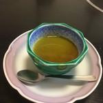 寿司割烹 魚徳 - 抹茶プリン
