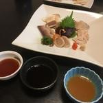 寿司割烹 魚徳 - 刺身の盛り合わせ