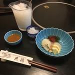寿司割烹 魚徳 - うねの辛子酢味噌