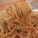 スパゲッティキング - 醤油・中盛(720円)