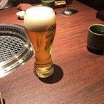 焼肉とビール 市場小路 -