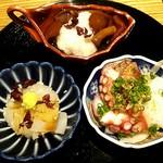 日本酒 弘大 - あて3種盛り