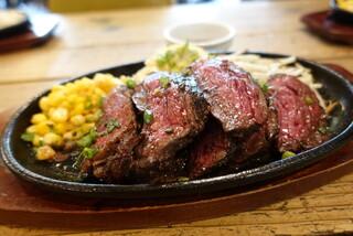 CALIFORNIA DINING THUNDER STEAK&HAMBURGER - ☆熟成ハラミステーキ(●^o^●)☆