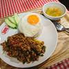 タイ国麺飯ティーヌン - 料理写真:ガパオごはん