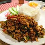 タイ国麺飯ティーヌン - ガパオごはん