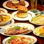 オールドニューダイナー - 料理写真:チェーン店では味わう事のできない全て手作りの宴会コースです。