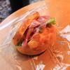 ブレッド ファクトリー - 料理写真:生ハムチーズサンド
