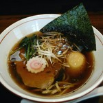 麺処 ほんだ - 【醤油らーめん + 味玉】¥700 + ¥100