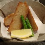 禅紫 - エビ芋の唐揚げ