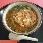旬彩和食 遊仙 - 料理写真:かき揚げうどん@550
