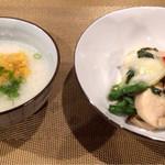 チャイニーズレストランシーズン - 中華粥&海鮮青じそ炒め
