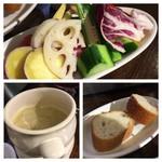 スペイン食堂 黒崎バル8 - お野菜いろいでヘルシー^_^