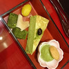 茶カフェ 上辻園 - 料理写真:甘味重箱 京づくし 864円