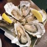 魚介ビストロ sasaya - 追加の生牡蠣