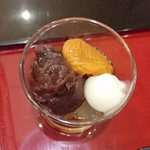 茶カフェ 上辻園 - 甘味重箱 京づくし 864円